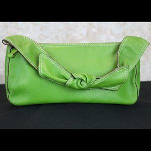 Kate Spade Bowstrap Baguette Green Italy